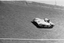 Mercedes W196 Streamliner Kling at 1954 AVUS GP